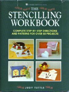 The Stenciling Workbook HB w/ DJ Pic 1