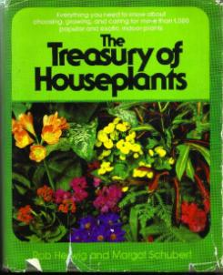 The Treasury of Houseplants HB w/ DJ