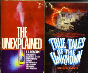 Lot of 7 Books about the Unexplained Pic 1