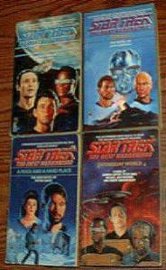 BIG BOX of Star Trek Books :: The Next Generation :: Pic 1