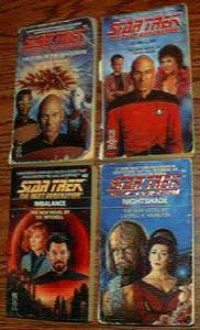 BIG BOX of Star Trek Books :: The Next Generation :: Pic 2
