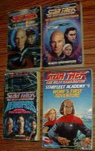 BIG BOX of Star Trek Books :: The Next Generation :: Pic 3