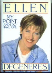 MY POINT ... AND I DO HAVE ONE Ellen DeGeneres HB w/ DJ Pic 1