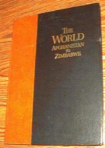 The World Afghanistan to Zimbabwe Rand McNally 1996 HB Pic 1