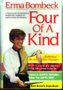 Erma Bombeck :: Four Of A Kind :: Treasury HB w/ DJ