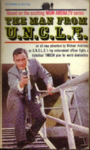 Lot of 3: Man from U.N.C.L.E. 1965 PBs Pic 3