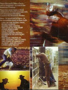 RODEO :: 1976 Illustrated Book  Pic 2