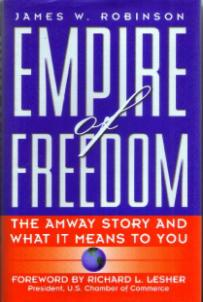 EMPIRE of FREEDOM :: The AMWAY Story :: 1997 HB w/ DJ