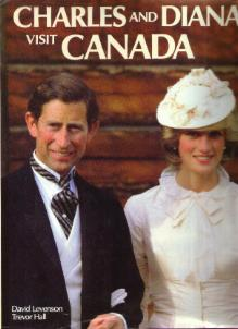 CHARLES and DIANA visit CANADA :: 1983 HB w/ DJ Pic 1