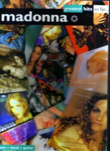 madonna :: greatest hits so far ... :: Song Book HB