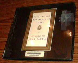 Crossing the Threshold of Hope John Paul II 6 Cassettes Pic 1