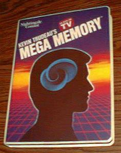 MEGA MEMORY :: Kevin Trudeau :: 9 Cassettes, 2 Books Pic 1