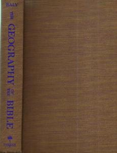 The GEOGRAPHY of the BIBLE :: 1957 HB