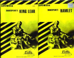 Lot of 7: CLIFFS NOTES on works of SHAKESPEARE  Pic 1