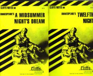 Lot of 7: CLIFFS NOTES on works of SHAKESPEARE  Pic 3