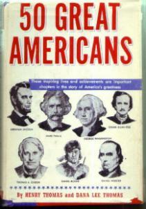 50 GREAT AMERICANS :: 1948 HB w/ DJ