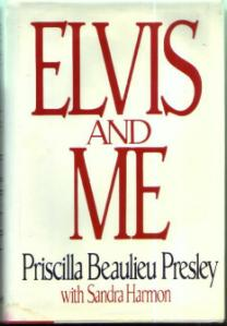 ELVIS AND ME :: 1985 HB w/ DJ by Priscilla Presley Pic 1