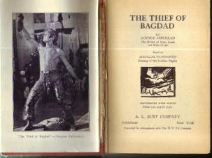 THE THIEF OF BAGDAD :: 1924 HB based on FAIRBANKS' Film Pic 2
