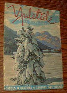 Pair of YULETIDE Books :: 1939 & 1944 Pic 2