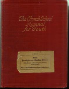 The Church School Hymnal for Youth :: 1934 HB