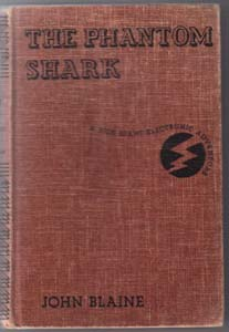THE PHANTOM SHARK :: Rick Brant Adventure :: 1949 HB