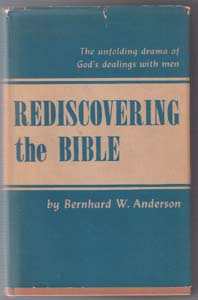REDISCOVERING the BIBLE :: 1951 HB w/ DJ