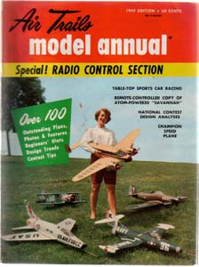 Lot of 3: AIR TRAILS Model Magazines: 1959, 1978 Pic 1