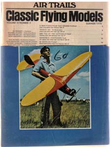 Lot of 3: AIR TRAILS Model Magazines: 1959, 1978 Pic 2