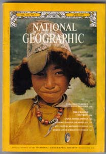 Lot of 7: National Geographic Magazines from 1977 Pic 2