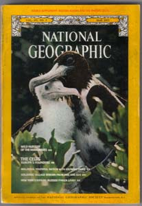 Lot of 7: National Geographic Magazines from 1977 Pic 3
