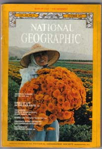 Lot of 7: National Geographic Magazines from 1977 Pic 7