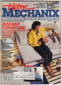 Lot of 4: Home Mechanix Magazines from the '80s Pic 2