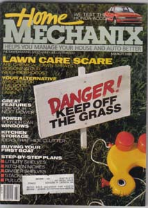 Lot of 4: Home Mechanix Magazines from the '80s Pic 3