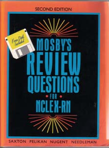 MOSBY'S REVIEW QUESTIONS FOR NCLEX-RN w/ Disk