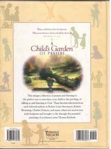 A Child's Garden OF PRAYERS :: THOMAS KINKADE Pic 2