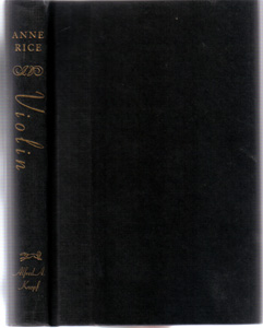 Violin :: 1997 HB by Anne Rice