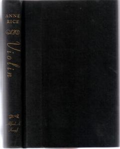 Violin :: 1997 HB by Anne Rice