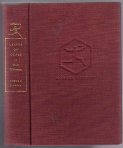 LEAVES of GRASS & Selected Prose by Walt Whitman 1950 HB