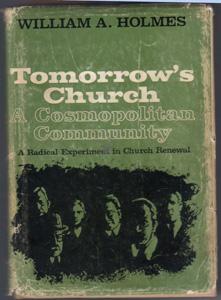 TOMORROW'S CHURCH :: A Cosmopolitan Community :: 1968 HB w/ DJ