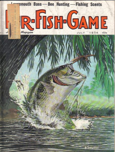 Lot of 4: FUR-FISH-GAME Magazines :: July, Oct-Dec 1974 Pic 1