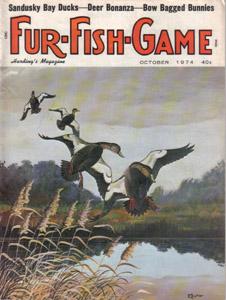 Lot of 4: FUR-FISH-GAME Magazines :: July, Oct-Dec 1974 Pic 2