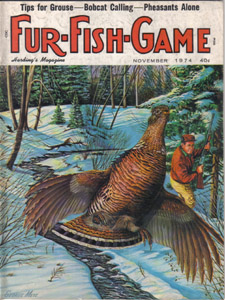 Lot of 4: FUR-FISH-GAME Magazines :: July, Oct-Dec 1974 Pic 3