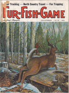 Lot of 4: FUR-FISH-GAME Magazines :: July, Oct-Dec 1974 Pic 4