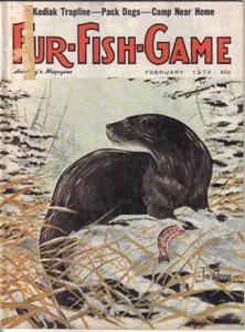 Lot of 4: FUR-FISH-GAME Mags :: Feb, Mar, May, Jun 1974 Pic 1