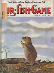 Lot of 4: FUR-FISH-GAME Mags :: Feb, Mar, May, Jun 1974 Pic 2