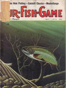 Lot of 4: FUR-FISH-GAME Mags :: Feb, Mar, May, Jun 1974 Pic 3