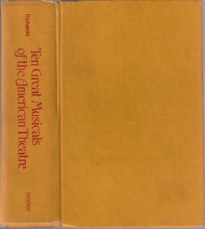 Ten Great Musicals of the American Theatre :: 1973 HB
