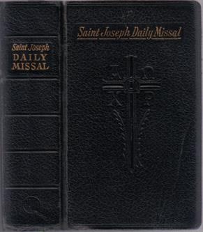 SAINT JOSEPH DAILY MISSAL :: 1961