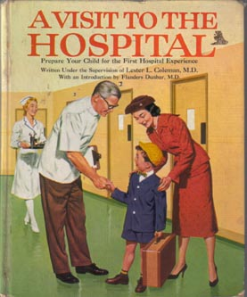 """a visit to the hospital Is there a reason the british omit the article when they """"go to hospital"""" he went to the hospital to visit his sick wealthy mother-in-law."""