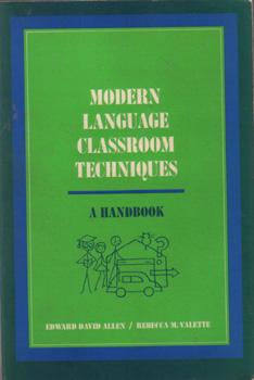 Modern Language Classroom Techniques